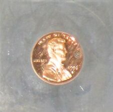 1996 S Certified Proof 70 Deep Mirror Proof Cameo Lincoln Memorial Penny