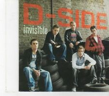 (FX206) D-Side, Invisible - DJ CD