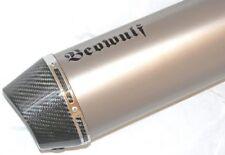 KAWASAKI Z1000 07-09 Beowulf Silenciadores Tubos de Escape Silenciadores Par de Titanio + Carbon