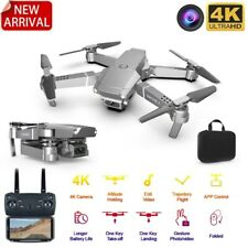 Mini Drone 2020 New E68 WIFI FPV With Wide Angle HD 4K 1080P Camera Hight Hold M