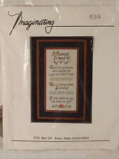 A Special Friend Imaginating Cross Stitch Kit Marilyn Clark Inc.