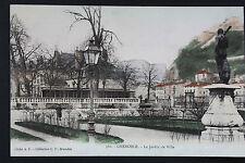 Carte postale ancienne CPA GRENOBLE Le Jardin de Ville