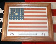 American Civil War Flag, 34 star Flag..1st Minnesota Infantry