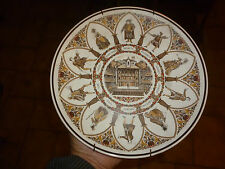 Assiette Wedgwood Plate SHAKESPEARE CHARACTERS ALL THE WORLD'S STAGE