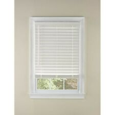 "Levolor 2-in White Faux Wood Blinds 31.5"" x 64"" Hott Deals 182906-Custom Cut"