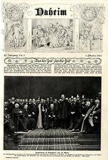 Hindenburg im Ruhrgebiet und am Rhein (nach Ruhrkampf) Titelblatt von 1925