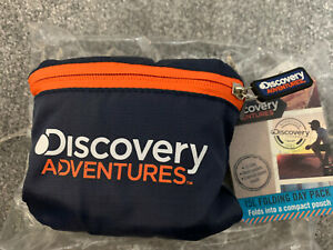 Discovery Channel Adventures 15 Litre Folding Day Pack Packable Backpack Bag UK