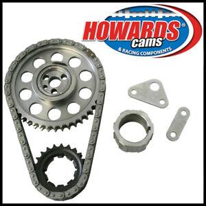 HOWARDS Double Roller Billet Steel Chevy Gen III LS 9-Keyway Timing Chain Set