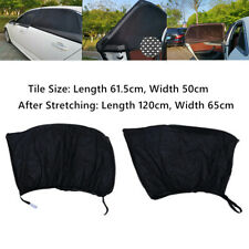 2X Car Window Mesh Cover Shield Sun Visor Shade Sunshade UV Protector Durable