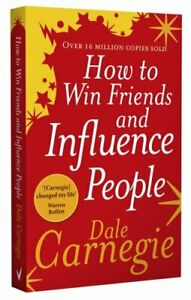 How to Win Friends and Influence People by Dale Carnegie Paperback Book The