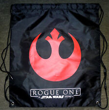 ROGUE ONE: A STAR WARS STORY Movie 14x16 REBELS LOGO Re-Usable Bookbag Bag