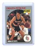 1990-91 hoops #248 DRAZEN PETROVIC portland trailblazers rookie card