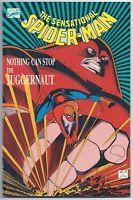 Marvel Comics Sensational Spider-Man Nothing Can Stop Juggernaut 1989 TPB (VF+)