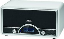 AEG. NDR 4378, DAB+ Radio,Retro Digitalradio  Creme