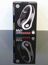 MONSTER MVP Carbon OnEar Gaming Headset Kopfhörer XBOX 360,PS3,Wii,PC NEU Weiß