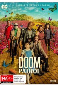 Doom Patrol Season 2 - (2021, DVD) Brand New Sealed Region 4
