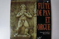 Flute de Pan et Orgue  Gheorghe Zamfir et Marcel Gat Cellier FLD 550 LP29