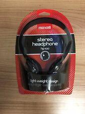 Maxell Stereo Headphone hp-100 - NEW