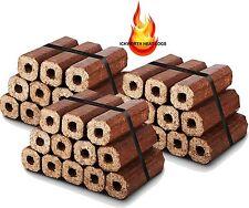 36 Premium Eco Wood Heatlogs- Firewood Fuel Heat for Open Fire Stoves Log Burner