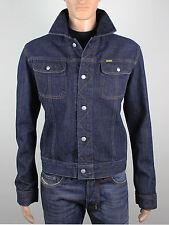 Diesel mens Size L XL short blue denim jacket