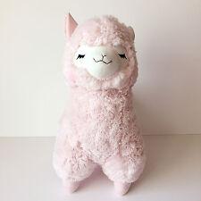 AMUSE Pastel Arpakasso Pink Closed-Eye Girl (BIG 50cm) Alpacasso Alpaca Plush