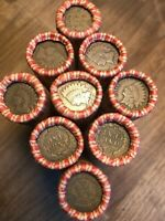 Double End Indian Head / Wheat Rolls Unsearched Old Cents US Coins P D S Pennies