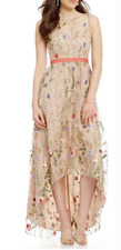 Adrianna Papell Floral Embroidered Dress size UK10