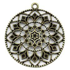 Mandala Orient Anhänger Ornamente Modeschmuck Bastelmaterial Schmuckzubehör DB29