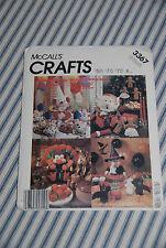 Vintage McCalls Seasonal Craft Patterns -- Halloween Christmas & More -- 3367
