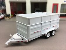 1/64 GREENLIGHT WHITE DUMP TRAILER