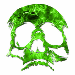 Dead Skull - Vinyl Decal Sticker - Multiple Patterns & Sizes - ebn1106