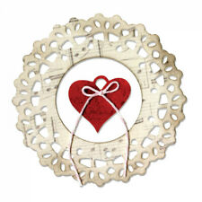 Sizzix Thinlits Die Set 2PK - Doily, Jewel Heart