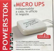 Ups Micro Ups Gruppo Di Continuita Modem Blackout Elettrico Powerstock
