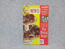4th PILLSBURY BAKE OFF COOKBOOK 1953 Grand National Recipe Contest  EXCELLENT