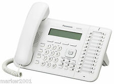 Panasonic KX-DT543 B 24-Button 3-Line Backlit Display Speaker Phone in White