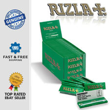 More details for rizla green regular rolling paper original cigarette smoking paper skins sheets