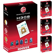20 x HOOVER H30S Purefilt Bags for T Series Vacuum Cleaners Genuine H30 Super