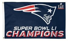 New New England Patriots Champions 3x5 Indoor Outdoor Flag Banner Nfl V3