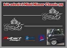 ADESIVI STICKERS PER MINI MINOR   CLASSIC 35