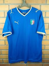 Italy Italia jersey large 2008 2009 home shirt soccer football Puma