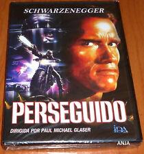 PERSEGUIDO / THE RUNNING MAN English Español -DVD R2- Precintada