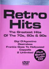 Retro Hits The Greatest Hits Of The 70s, 80s & 90s iTALO dISCO DVD + CD