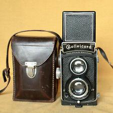 Rolleicord II 1-2-3 vintage German Rollei TLR camera CLA Compur Zeiss Triotar