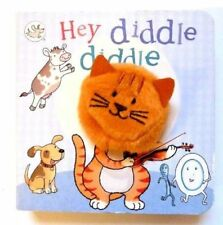 Little Learners Hey Diddle Diddle marionnette à doigts livres, Enfants Âge 2 An +, NEUF