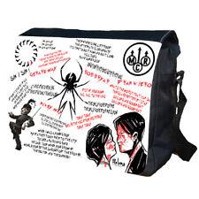 My Chemical Romance MCR School College Uni Shoulder Bag Messener Bag