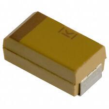 12pcs 220uF 10v Kemet Tantalum Capacitor SMD SMT Motherboard PCB 220mfd