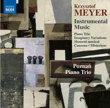 Krzysztof Meyer : Krzysztof Meyer: Instrumental Music CD (2015) ***NEW***