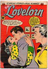 "LOVELORN #44 - December 1953 - ACG Golden Age Romance! - ""My Vengeful Heart!"""