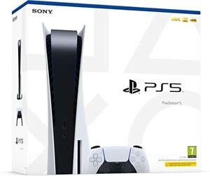 Consola Playstation 5 SONY PS5 4K HDR Versión de Disco 825Gb Completa (Nueva)