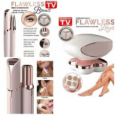 Flawless Legs/Face/Eyebrows/Body Hair Remover USB Rechargeable Battery Wet&DryAU